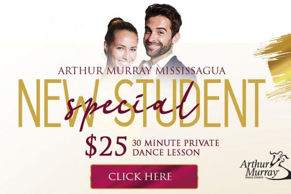 Arthur Murray Mississauga New Student Offer